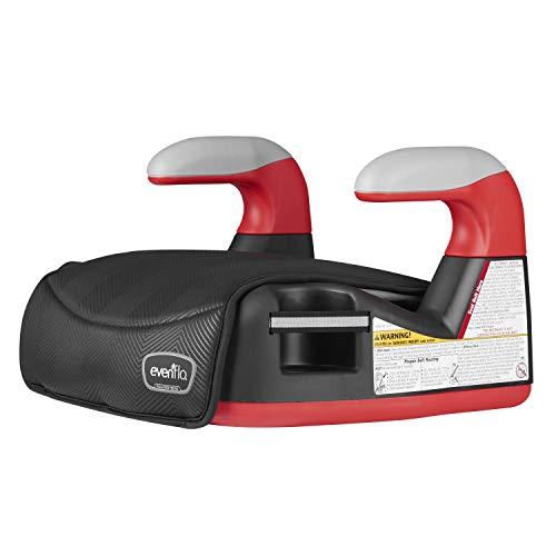 41JLrvVZfkL - Big Kid No Back Booster Car Seat, 40 - 110 Lbs., Black Chevron
