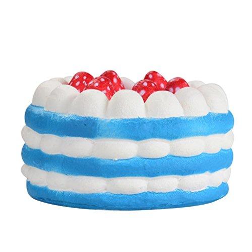 Juguetes Apretados, ❤️Xinantime Stress Reliever Strawberry Cake Scented Super Slow Rising Juguete para niños Juguete lindo juguete niño 6 años juguete ...