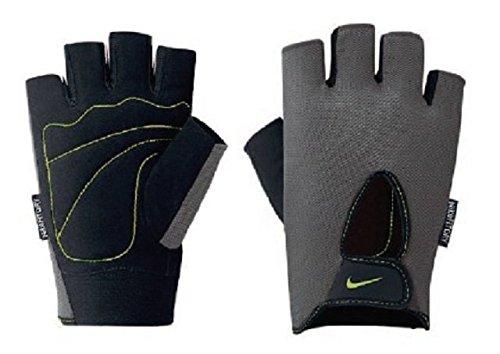 Nike Mens Fundamental Training Gloves, Anthracite/Black/Volt (Large)