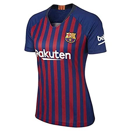 Lionel Messi Barcelona #10 Womens Soccer Jersey Home Short Sleeve Adult Sizes