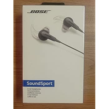 Brand New/Sealed Bose SoundSport in-ear headphones - Charcoal Color 741776-0140