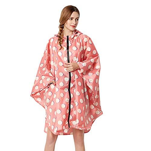 Anyoo Waterproof Rain Poncho Lightweight Reusable Hiking Rain Coat Jacket with Hood for Boys Men Women Adults