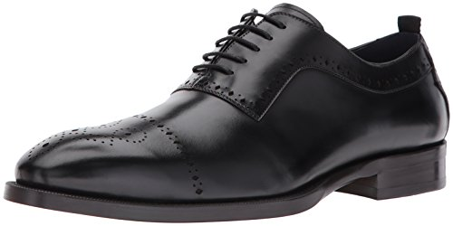 Steve Madden Mens Cerra Oxford In Pelle Nera
