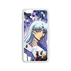 """Custom hong hong case Sesshoumaru Image for iPhone 6 (4.7"""") Cell Phone Case [Non-Slip] [Non-Slip] Shock Absorbing and Scratch Resistant Perfect"""