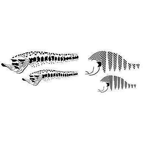 Creartec Snax Fisch Airbrush Schablonen 7-teiliges Set 262 856