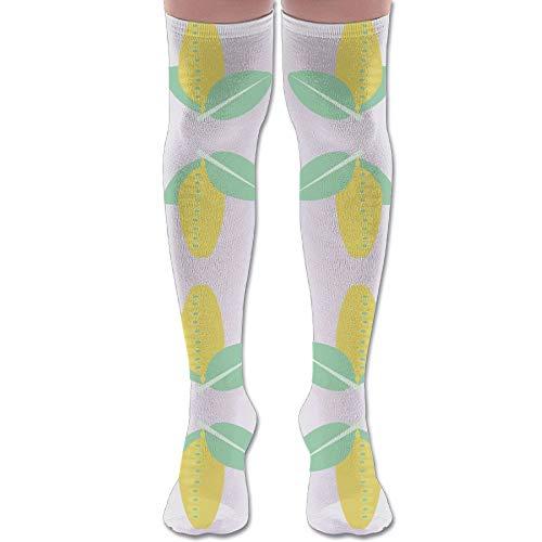 (HFJDLSK Knee Long Socks Tube Thigh-High Sock Stockings - Cestlavivid Butterfly Cocoon.ai Fabric (3391) Print for Girls & Womens)