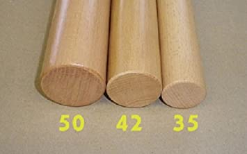 /Ø50mm Handlauf ohne Halter in verschiedenen L/ängen Buche 150cm