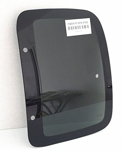 1995-2000 Toyota Tacoma Pickup 2 Door Extended Cab Driver Left Side Rear Quarter Glass Window -