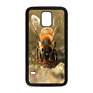 Best Quality [LILYALEX PHONE CASE] Honey Bee Pattern For Samsung Galaxy S5 CASE-1