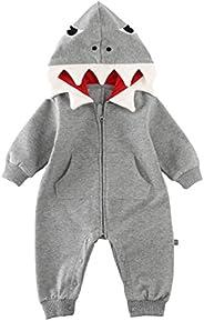 Newborn Infant Baby Girl Boy Bear Romper Soild Color Hooded Jumpsuit Playsuit Outfits,SIN vimklo