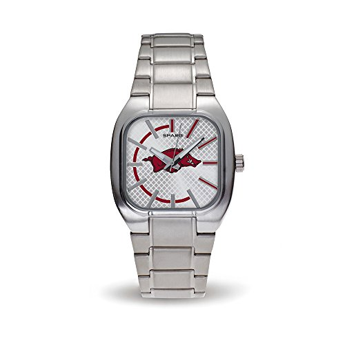 NCAA Arkansas Razorbacks Turbo Watch, Silver