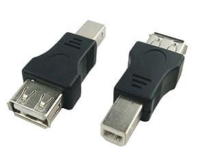 to USB Type B Male Adapter (USB_A_F-USB_B_M): Computers & Accessories