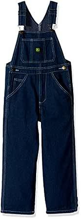 John Deere Toddler Boys' Overalls, Denim, 2T