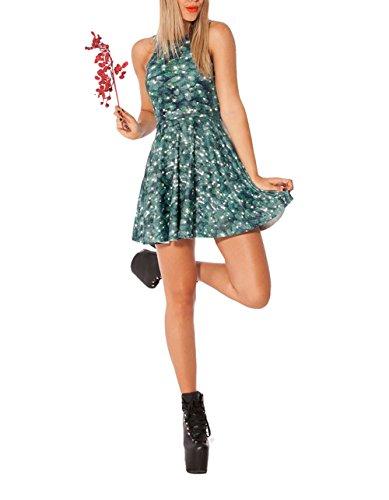 SOTW Christmas Donna skinny Vestito Tree zr8z0