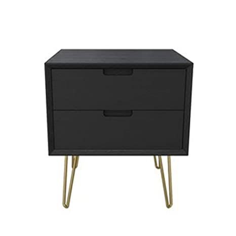 more photos d3fe2 dabe2 Amazon.com: Bedside table Night Table Bedroom Cabinet 2 ...