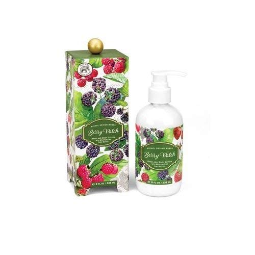 - Michel Design Works Moisturizing Hand and Body Lotion with Shea Butter, Berry Patch