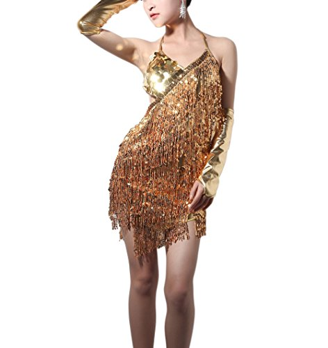 Dance Costumes For Competition For Sale (Latin Night Dance Dress Attire Costumes Outfit Women for Competition with Fringe)