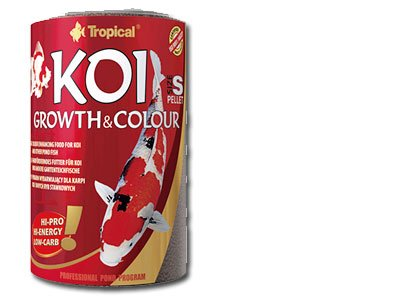Tropical Koi Growth and Colour Pellet Size S, 1er Pack (1 x 3 l)