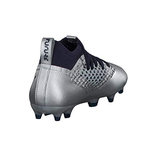 Botas Junior 03 Futbol Puma De azul Fg 2 Plata Future Color 3 ag 104836 Plata Netfit RrRFq5zw6