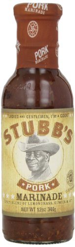 Stubb's Pork Marinade, Chiles, Lime & Ginger, 12 oz