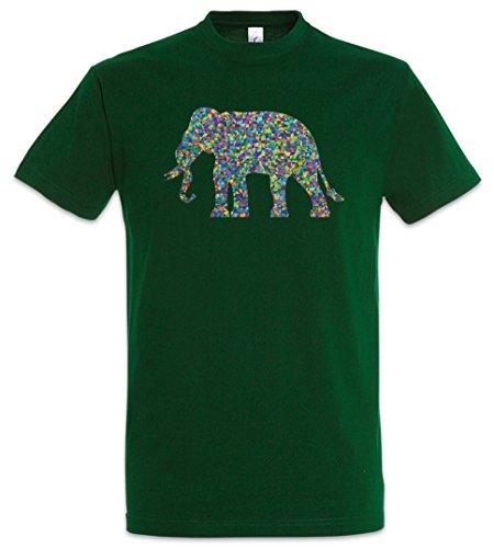 Urban Backwoods Colored Elephant T-Shirt Sizes S – 5XL