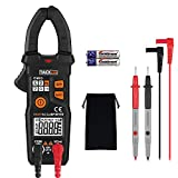 Clamp Meter, Tacklife 6000 Counts Auto-Ranging Multimeter for AC/DC Voltage, AC Current, Resistance, NCV, AC signal frequency, Diode Test, Duty Cycle, Hz Tester with LCD Backlit | CM03