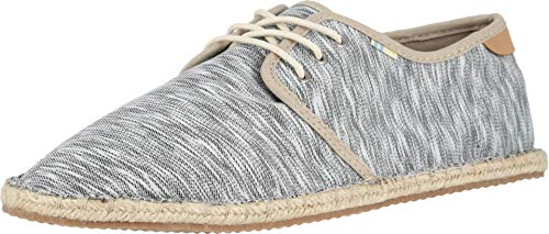 TOMS Diego Men's Casual Shoes Drizzle Grey/White Noise Jersey (10) (White Drizzle)