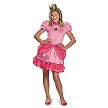 Disguise Nintendo Super Mario Brothers Princess Peach Tween Costume, X-Large/14-16