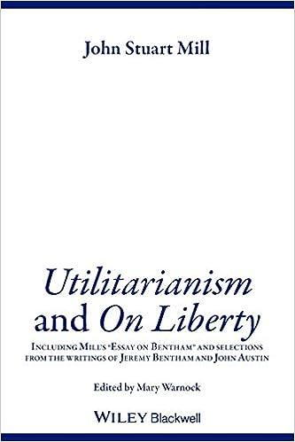 utilitarianism thesis statement
