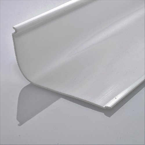 """Fluorescent Light Cover Replacement: 24"""" Lens Diffuser Under Cabinet Replacement Cover Curved Face"""