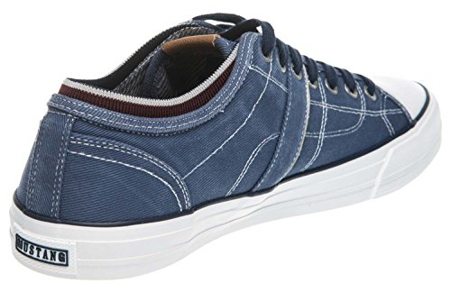 Homme 800 800 303 Basses dunkelblau Sneakers Mustang 4127 Exw0SX5qnp
