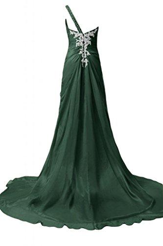 Pageant abito abiti spalla sera Sunvary sera da Verde scuro Una da bellissimi tZzWqwW7O