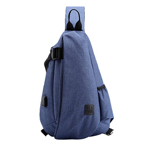 Crossbody Bag,Realdo Male Shoulder Messengers Bags Men Chest School Casual Solid Short Trip Daypack ()