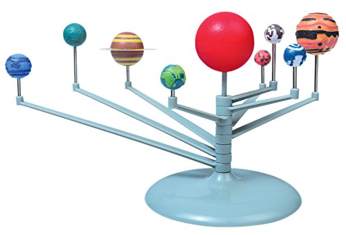BleuMoo Nine planets Puzzle Assembling Solar System Planetarium Model Children's Science DIY Toy Set