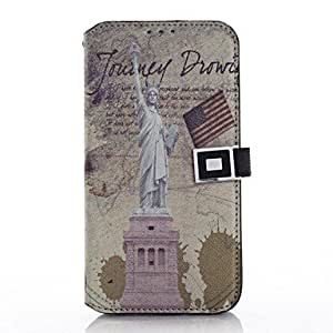 QYF Samsung S5 I9600 compatible Graphic PU Leather Back Cover