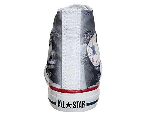 Converse Personalizzate All Star Sneaker Unisex (Scarpa Artigianale) Film Cult
