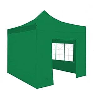 regalosMiguel - Carpa Plegable 3x3 FORCE Verde (Kit Completo)
