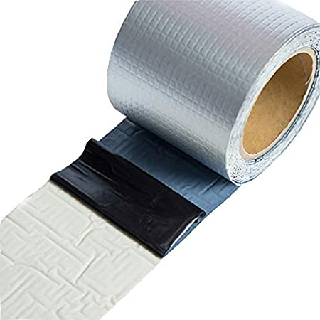 Super Fix wasserdicht selbstklebendes Butylband Tabanlly Aluminiumfolie Stop Leck Seal Repair Tape Crack Thicken Tape Home RenovationTool