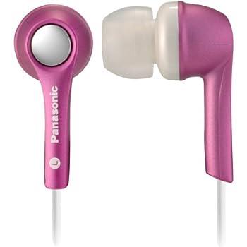 Panasonic RP-HJE240-P1 Noise Isolation In-Ear Earphones (Pink)