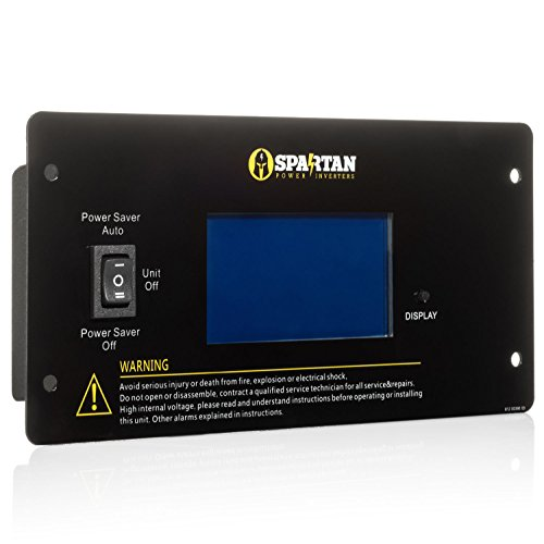 (Spartan Power Remote Switch Panel IC Series Inverter Chargers)