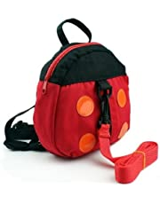 Baby Rucksack/Kid's Backpack with Safety Harness Ladybird