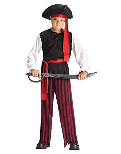Caribbean Pirate Kids Costume (Boys Swashbuckler Costumes)