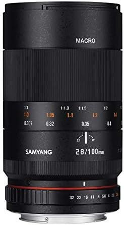 Samyang 100mm F2 8 Ed Umc Full Frame Telephoto Macro Kamera