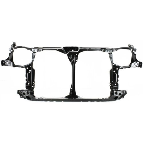 Radiator Support Compatible with HONDA CIVIC 2004-2005 Assembly Black Steel