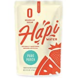 Hapi Water, Low Calorie All Natural Fruit Flavored Kids Water Juice Pouch with Zero Sugar, 5 Calorie, Low Carbs (Pure Punch, 32Count)