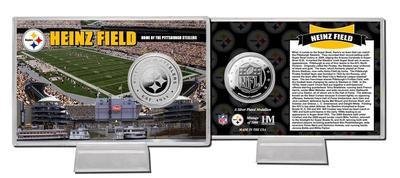 - Highland Mint Heinz Field Silver Coin Card THM-HFSPCCK