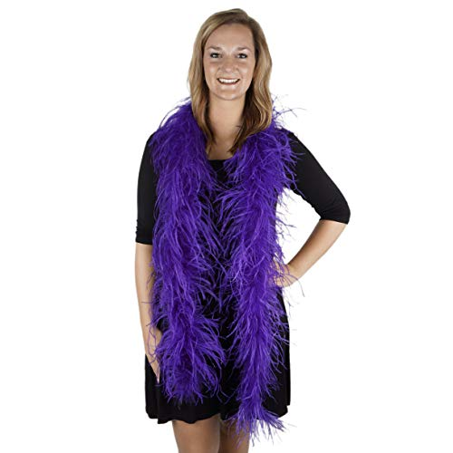 Zucker Feather Products Ostrich 2-Ply Boa for Decoration, Regal