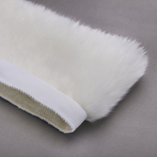 Neotrims Fake Faux Quality Fur Woolly Fringe Trimming, Satin Ribbon, For Costume, Crafts, Decoration. 10 Stunning Colours & 3 Sizes: 2.5, 5 & 10 cm. Beautiful Soft Handle. ()