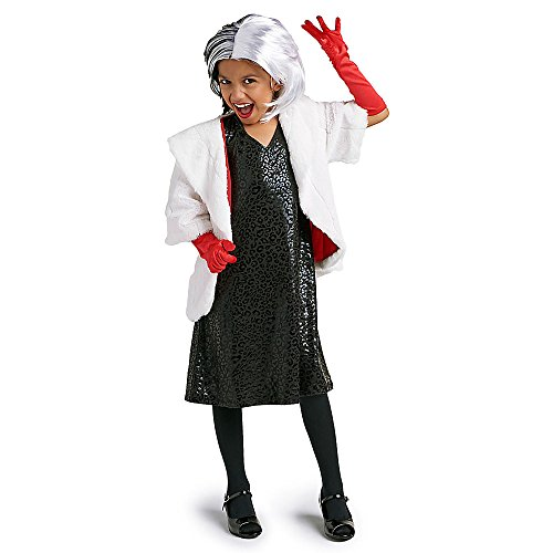 Disney Cruella De Vil Costume for Kids Size 5/6 -