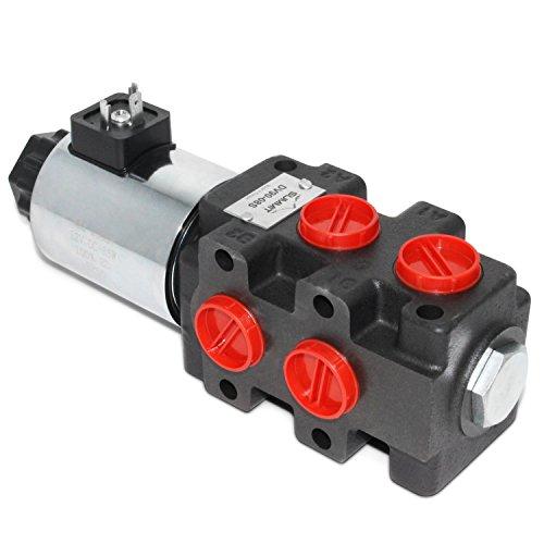 (Hydraulic Solenoid Selector/Diverter Valve, 24 GPM, 12v)